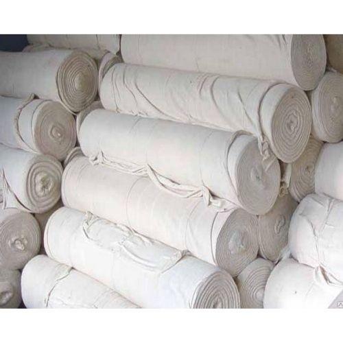 Холстопрошивное полотно белое 5мм ширина 150см