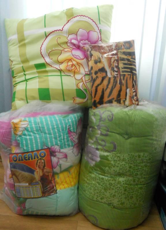 набор для рабочего матрас+подушка+одеяло