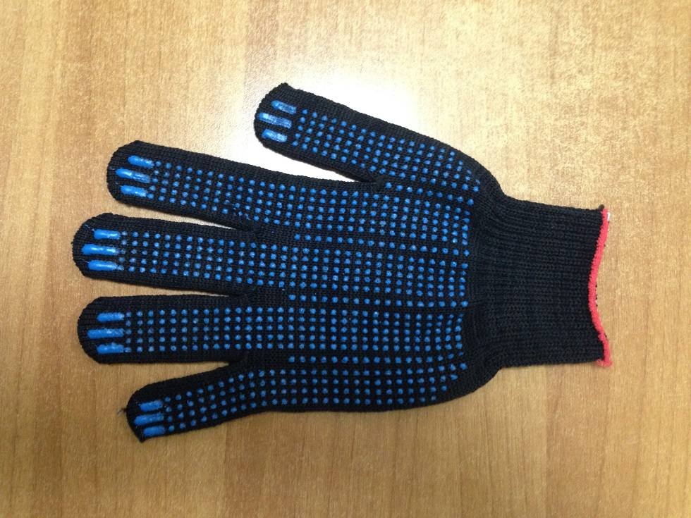 Перчатки 5-ти нитка сПВХ (Точка)