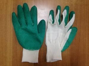 Перчатки латексные 1-ый облив