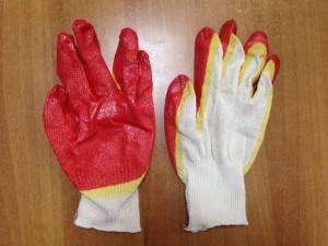 Перчатки латексные 2-ой облив