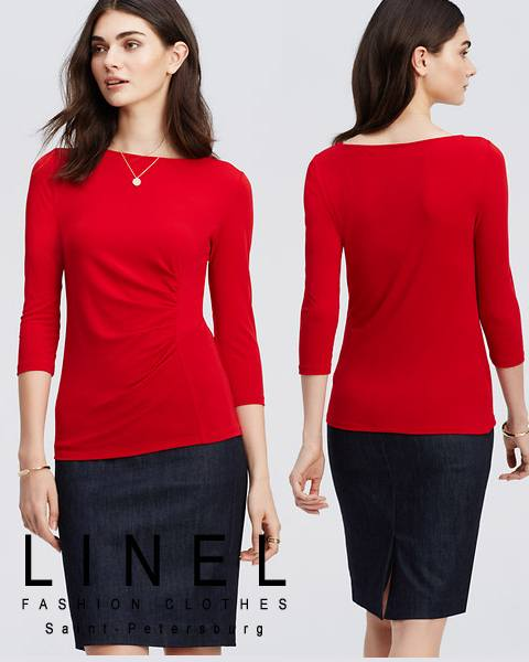 Трикотажная блузка тмLINEL