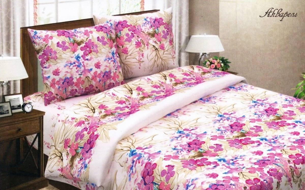 Комплект постельного белья 1,5 спальный изпоплина