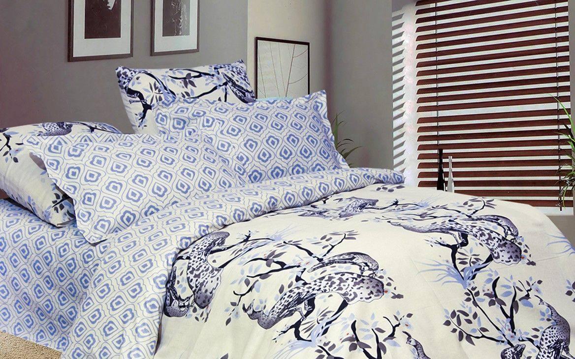 Комплект постельного белья изпоплина Семейный