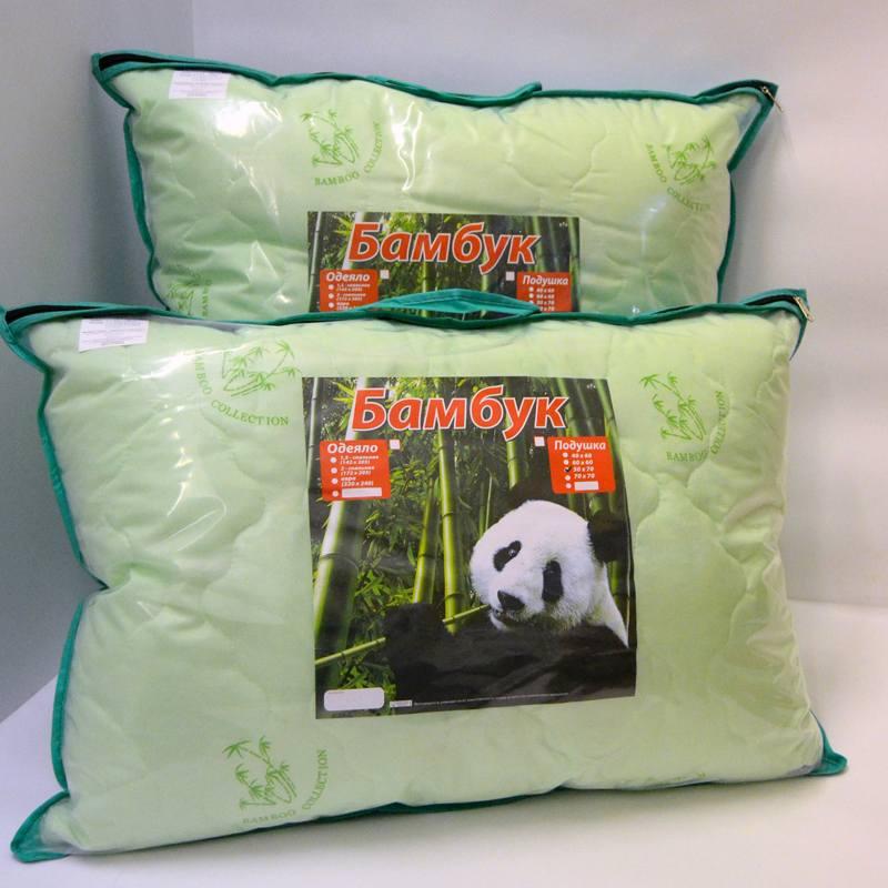 Подушка бамбуковый стиль