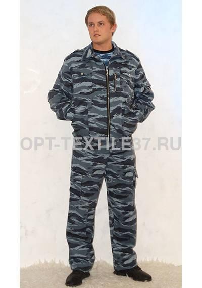 костюм охранника серый камуфляж