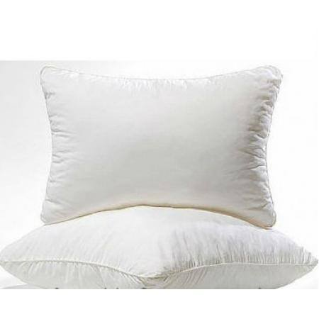 подушка 70×70 лебяжий пух сатин бел.