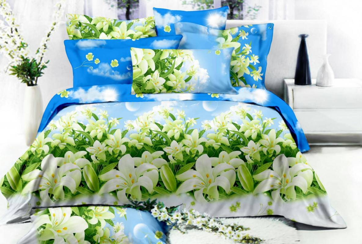 #01325 Комплект постельного белья «ПОПЛИН» (поплин 120г/м², 100% хлопок )