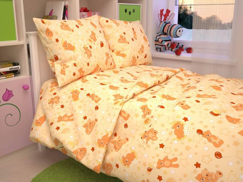 Детское постельное белье ясли- бязь люкс