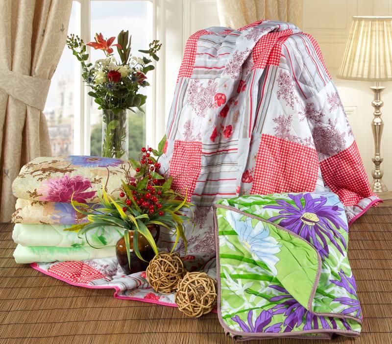 Одеяло-покрывало «Овечья шерсть» 150×200в ассортименте*