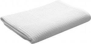 полотенце вафельное 45×100 белое 100%хб