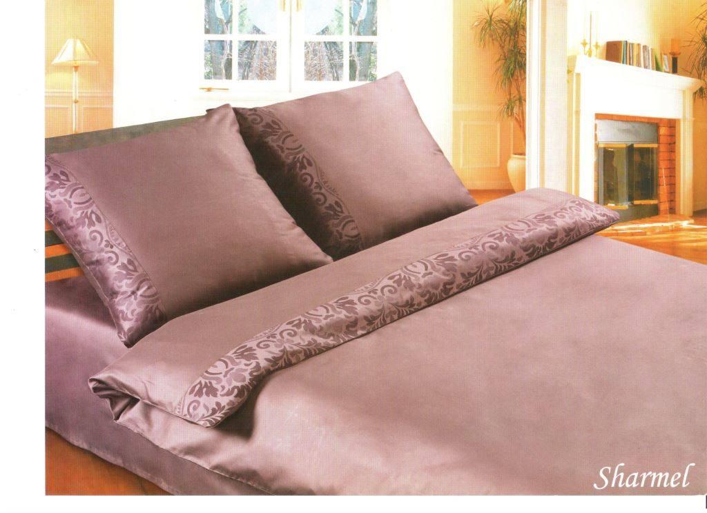 Постельное белье сатин однотонный Sharmel