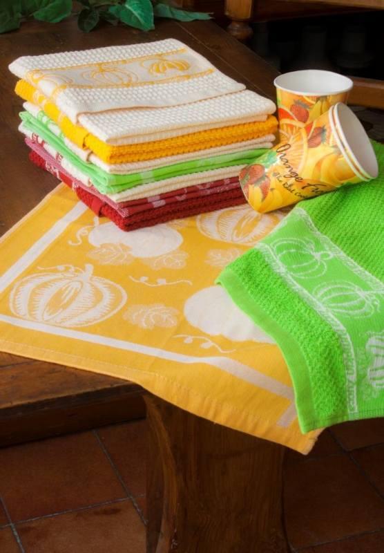 Набор полотенец для кухни «Тыква»