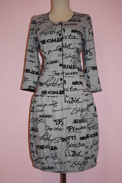 Платье женское «Колокольчик»
