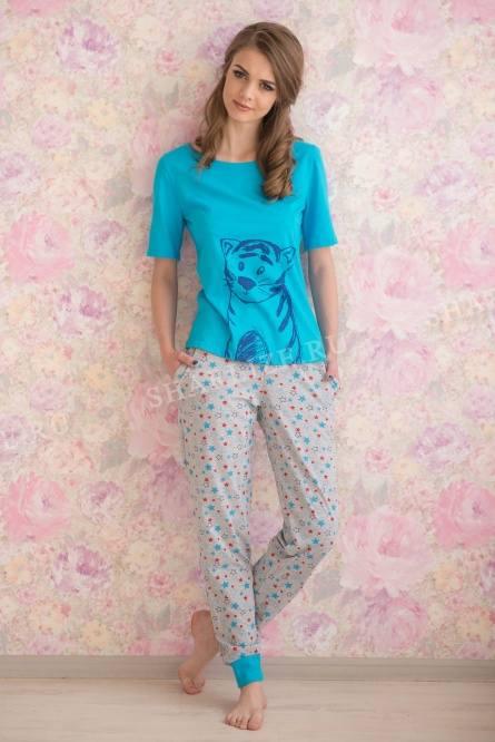 Костюм (брюки+футболка), арт.0713
