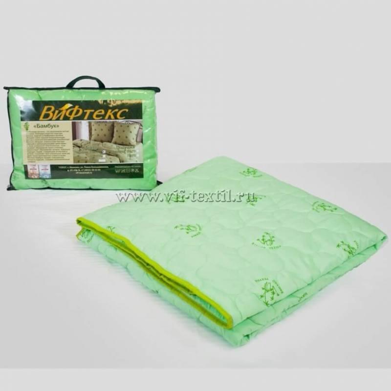 Одеяло бамбук 1.5сп, 150г/м2, полиэстер
