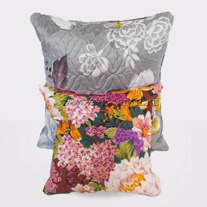 Подушка ультрастеп, полиэстер цветной 50×50