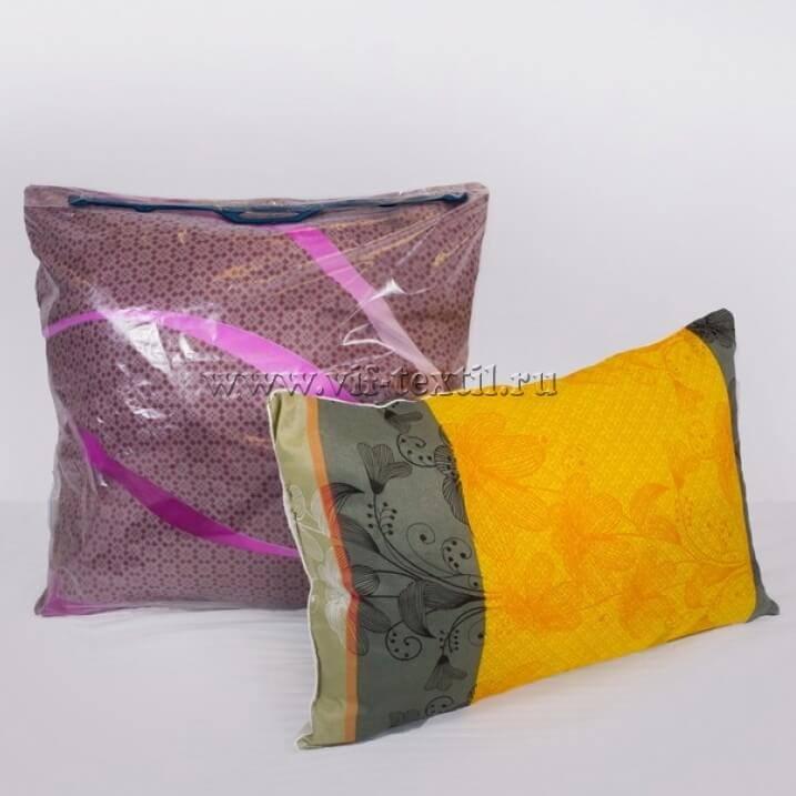Подушка фиберные шары, полиэстер 50×70