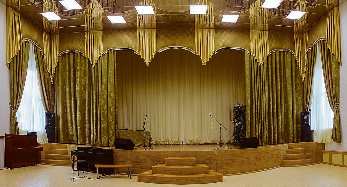 Пошив театральных штор