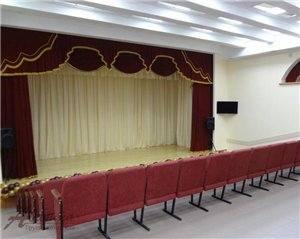 Шторы для актовых залов , сцен, филармоний