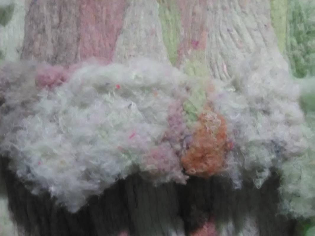 Регенерированное волокно для набивки ватных матрацев