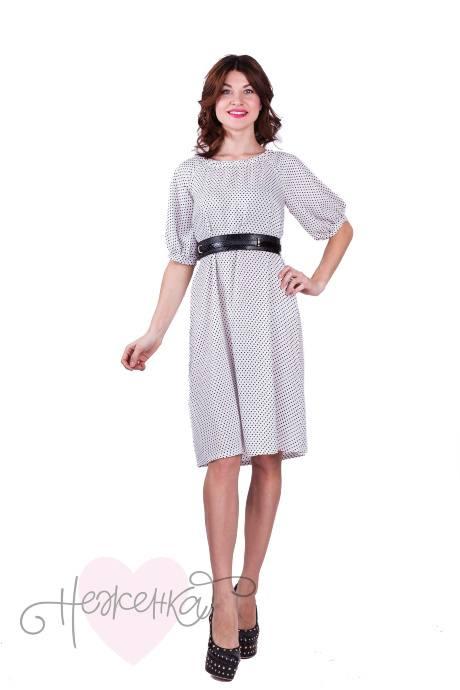 Платье П550/1 (горошек)