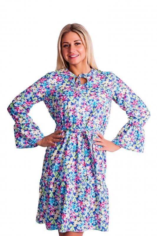 Платье П693 ( цветочки )