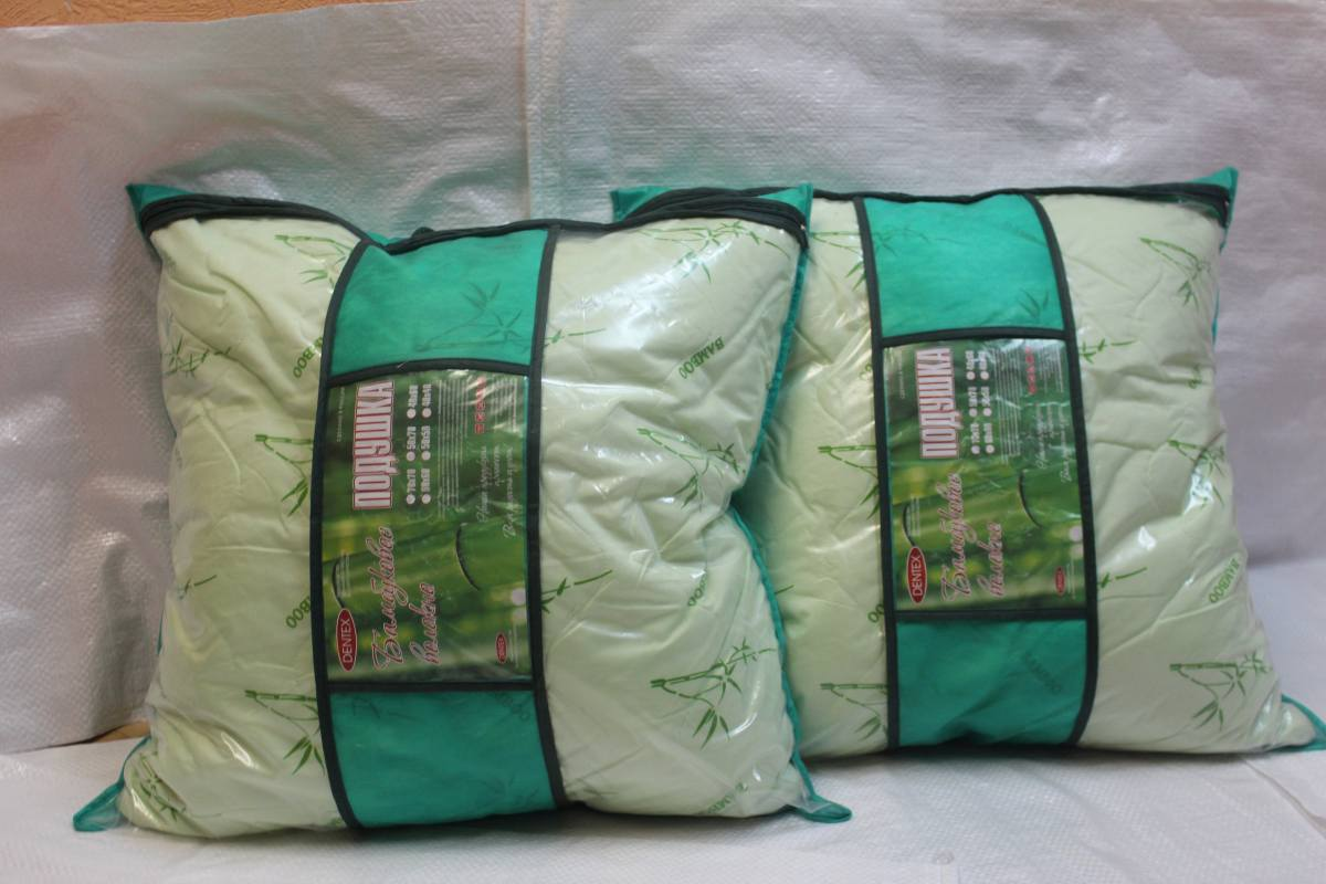 Подушка 70×70с наполнителем бамбуковое волокно