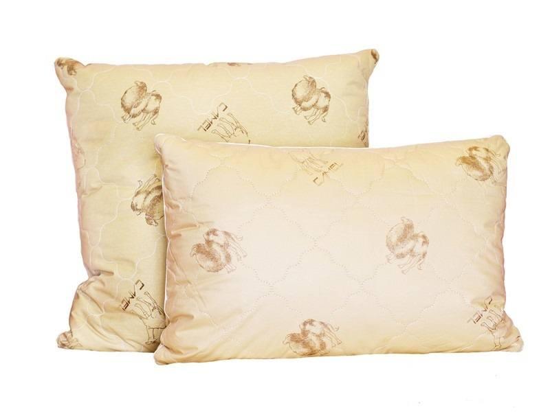 Подушка «2сезона» Верблюжья шерсть/Бамбуковое волокно