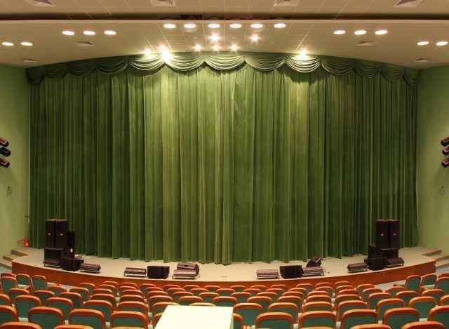 Театральные шторы.