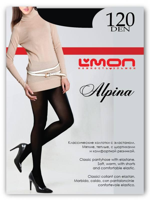Колготки L'mon Alpina 120 den