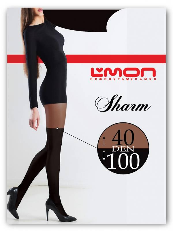 Колготки L'mon Sharm 40/100 den (ботфорты)