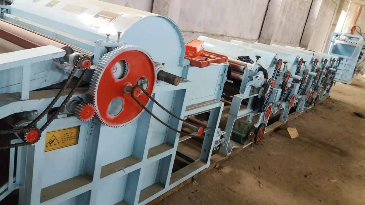 NSX-FS1060/1040 разрыхлитель для переработки текстильных отходов