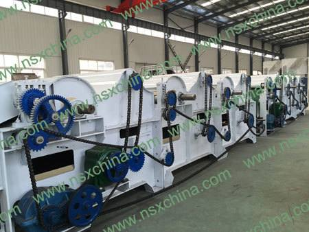 NSX-QT400 разволокнительдля переработки текстильных отходов