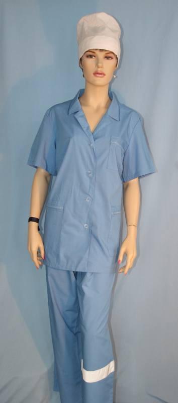 Санитарная женская одежда для лечащих врачей имедсестер лечебно-профилактических учреждений