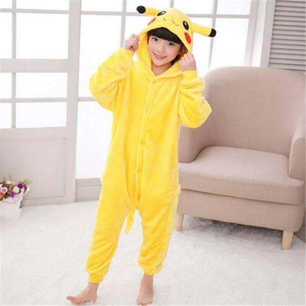 Пижама Кигуруми детская Пикачу