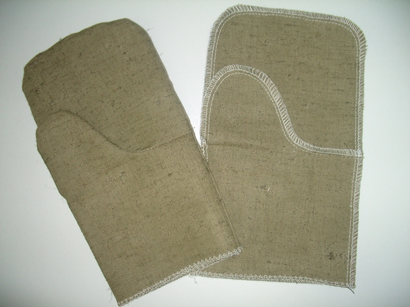 Рукавицы брезентовые <nobr>2-й</nobr> налад. ОП520г.