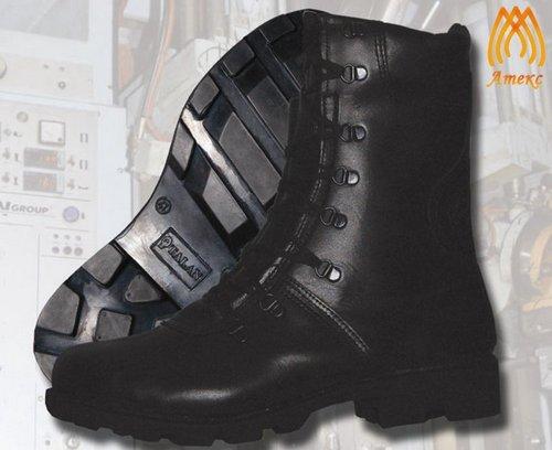 Ботинки свысокими берцами модель «Спецназ»
