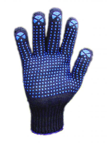 Перчатки чёрные <nobr>6-нитка</nobr>