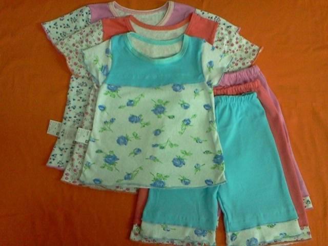 Пижама комбинированная