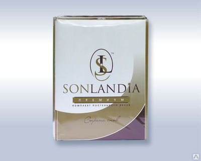 Комплект постельного белья «SONLANDIA» Premium-сатин 1,5сп.