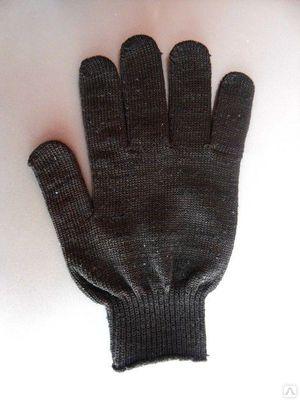 Перчатки 4нх/б + п/э, 7.5 класс вязки