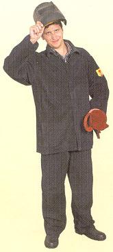 Костюм сварщика цельноспилковый (толщина <nobr>0,9-1,1 мм)</nobr>