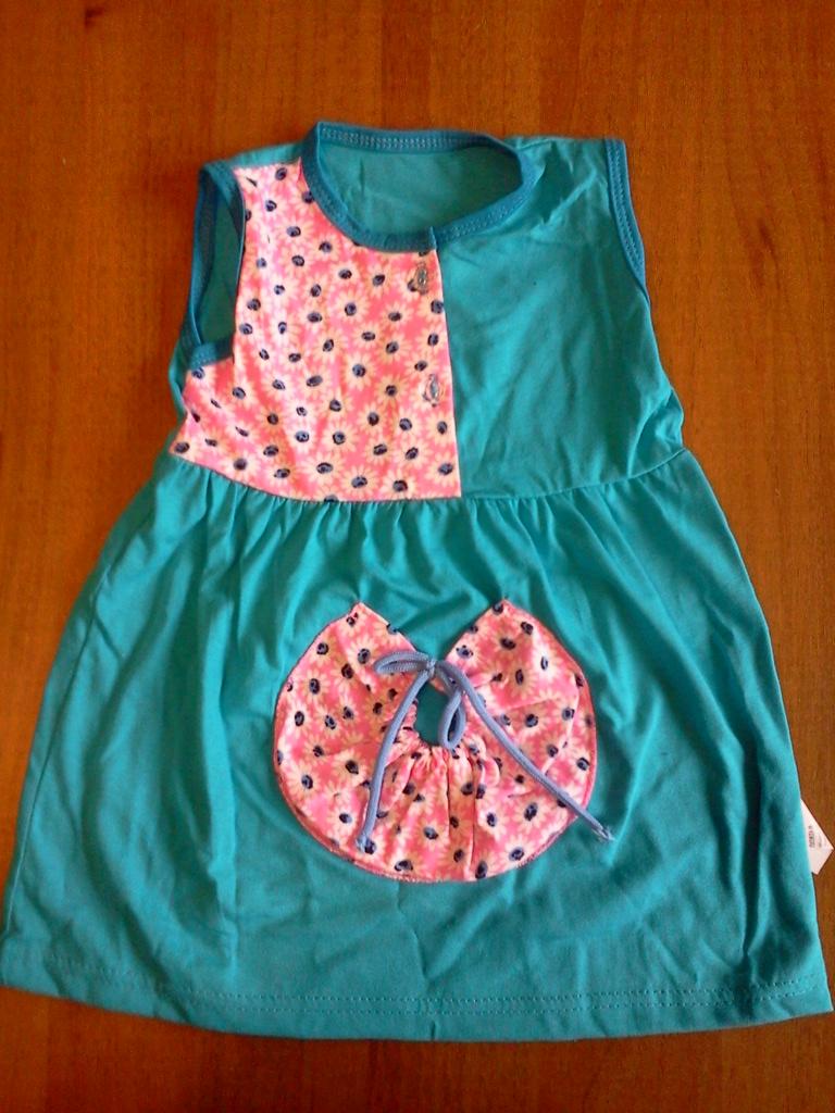 Платье трикотажное «Улитка»